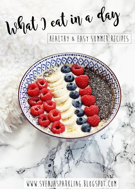 hat I Eat In A Day gesunde einfache Rezepte foodblogger deutsch avocado toast Spargel Erdbeer Spinat Salat