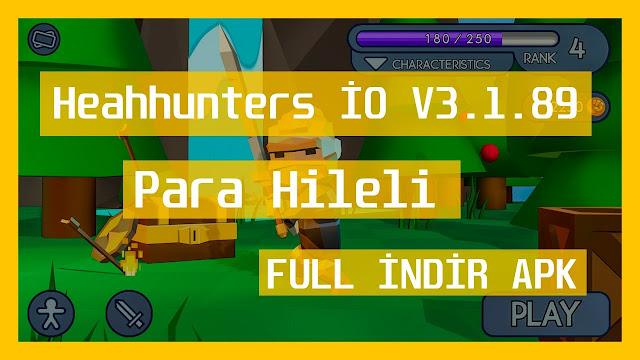 Headhunters İO V3.1.89 MOD Full APK – PARA HİLELİ