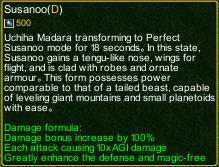 naruto castle defense 6.0 Madara Susano detail