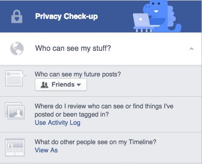 Privacy check