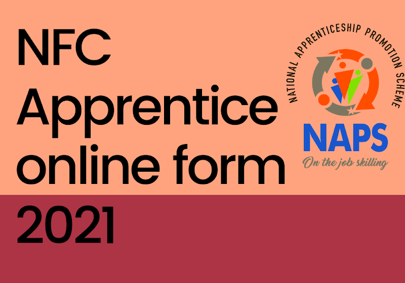 NFC Apprentice online form 2021
