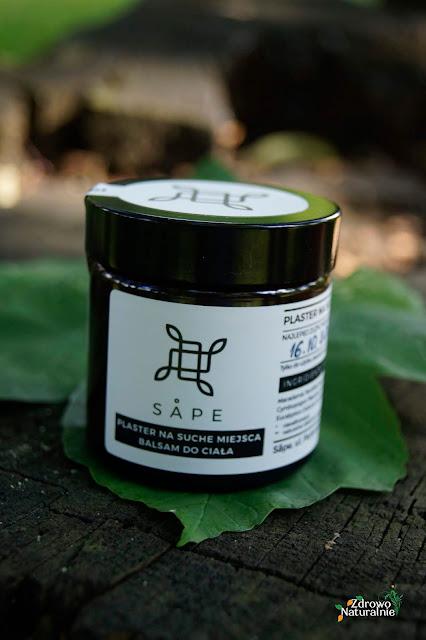 SAPE - Plaster na suche miejsca - Balsam do ciała