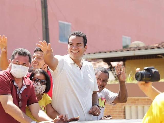 Klaus candidato do PSB a prefeito de Escada sofre tentativa de homicídio