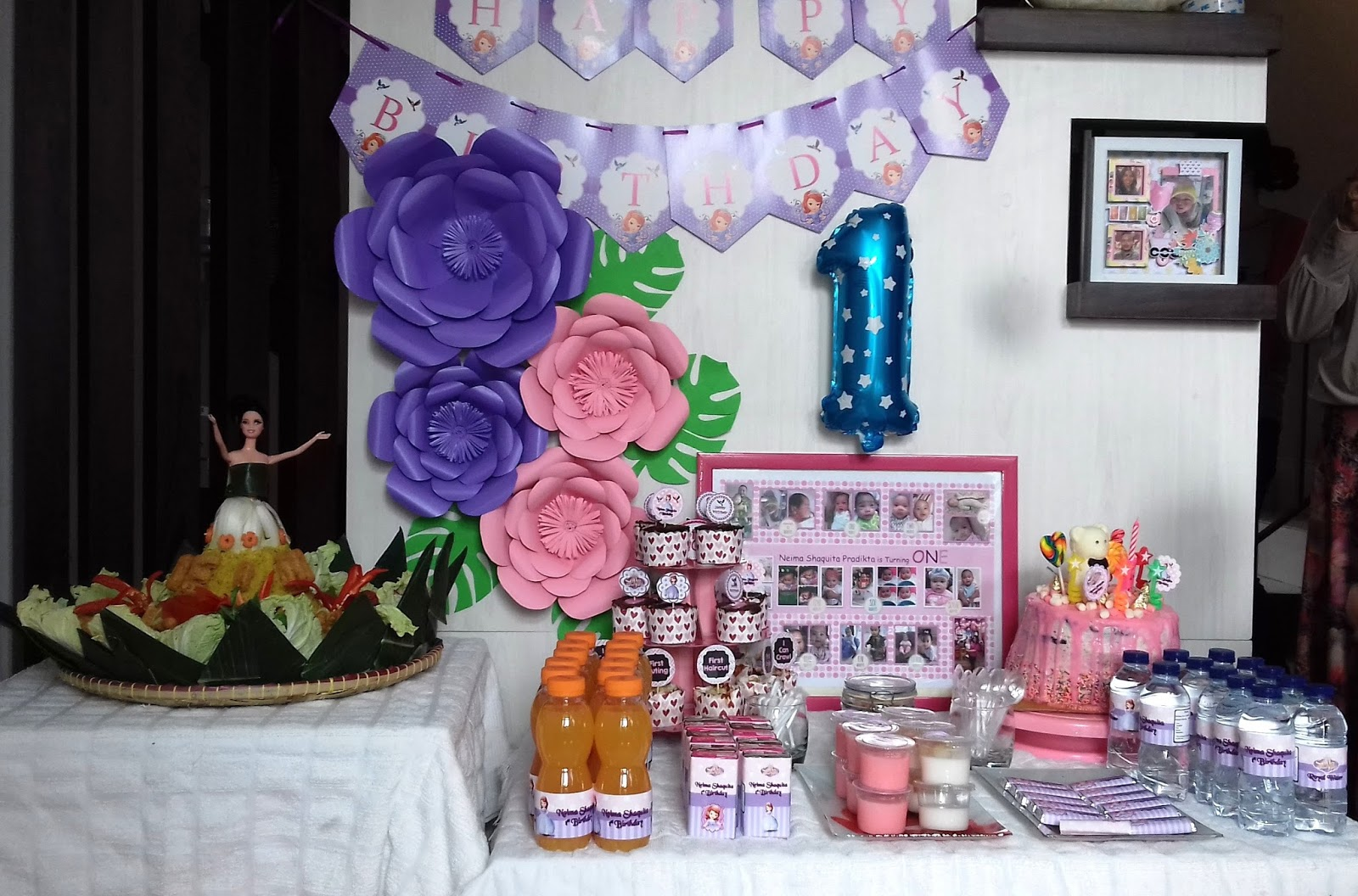 Oputcakra Membuat Birthday Dessert Table Decoration Sederhana