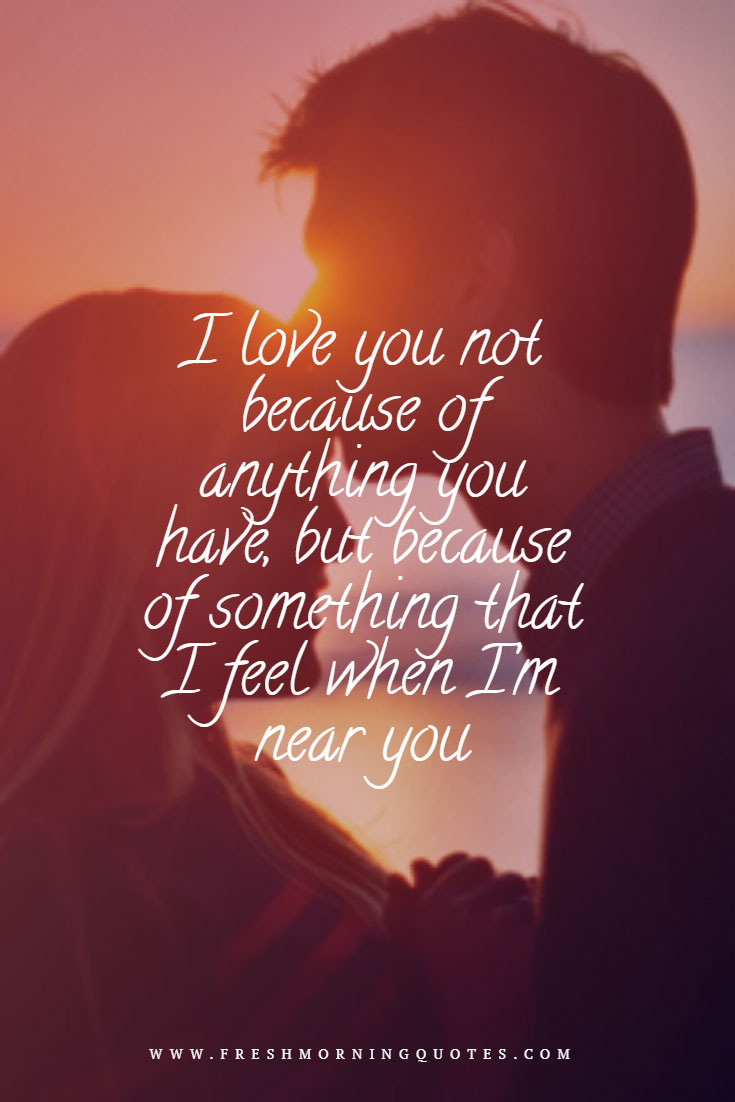 i love you Heart Touching Love Quotes for Him