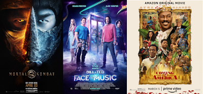 Mortal Kombat (2021) | Bill and Ted Face the Music (2020) | Coming 2 America