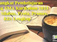 Perangkat Pembelajaran Jenjang SMA Kurikulum 2013 (RPP, Silabus, Prota, Promes, KD) Lengkap