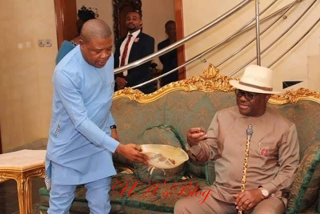 PHOTOS: Wike Visits Ihedioha In Imo
