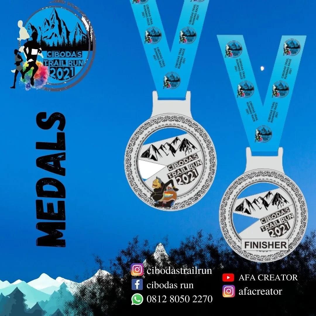 Medali � Cibodas Trail Run • 2021