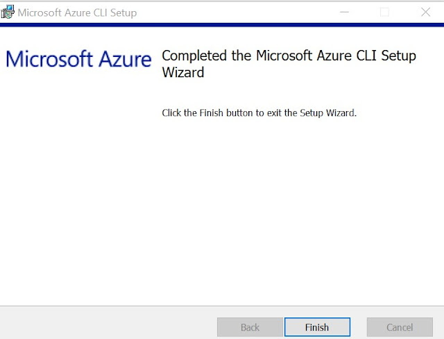 Azure CLI Install