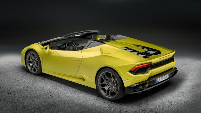 Lamborghini Huracán LP 580-2 Spyder 2017 - Con tracción trasera