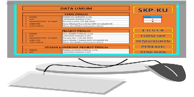 Aplikasi SKP Guru Excel PNS dan Non PNS