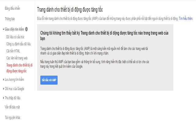 Sử dụng Google Search Guidelines for AMP để được hướng dẫn cụ thể cài đặt AMP cho website của bạn
