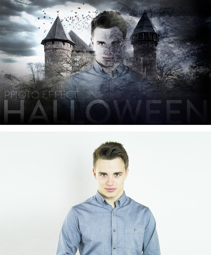 Halloween Scary Photo Effect[Photoshop][PSD][385354529]