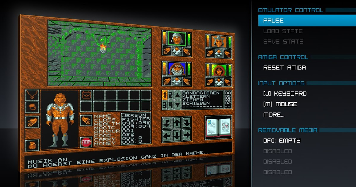 Indie Retro News: FS-UAE 2 8 1 - An Amiga Emulator with a
