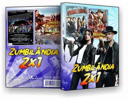 DVD Coleção Zumbilândia 2 em 1 - ISO