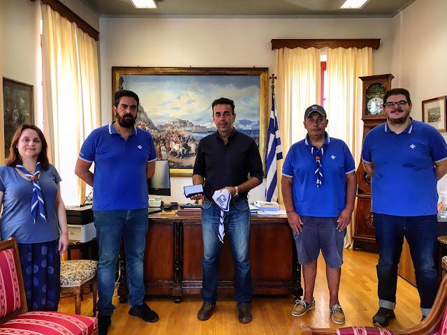 Διαδοχικές συναντήσεις προσκόπων με Δημάρχους σε Ναύπλιο, Άργος και Κρανίδι