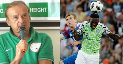 Super Eagles coach speaks after victory over Iceland, heaps praises on players