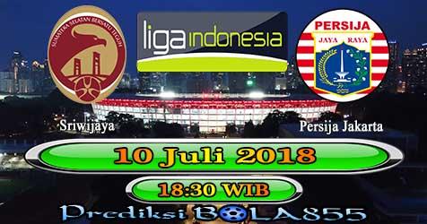 Prediksi Bola855 Sriwijaya vs Persija Jakarta 10 Juli 2018
