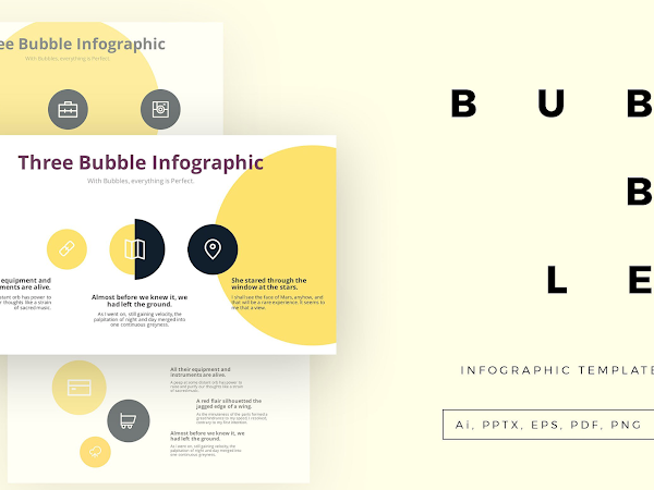 Download Bubble Infographic Template Free
