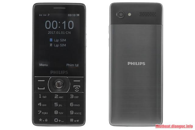 Hướng dẫn up ROM, sửa lỗi font chữ cho Philips E570 – Điện thoại nghe gọi 170 ngày