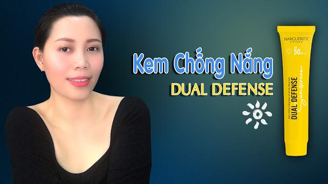 kem chống nắng vật lý dual defense