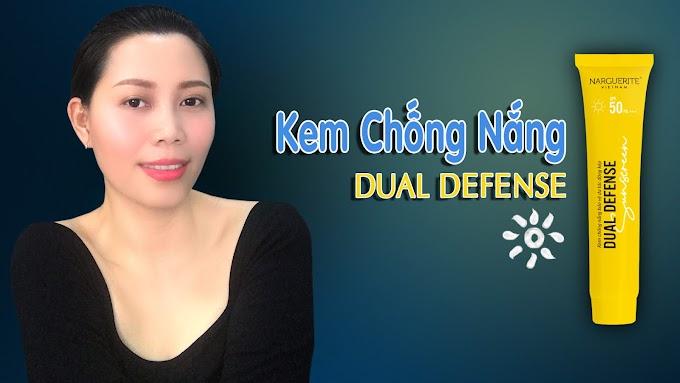 KEM CHỐNG NẮNG vật lý Dual Defense | Sunscreen mùa nắng nóng