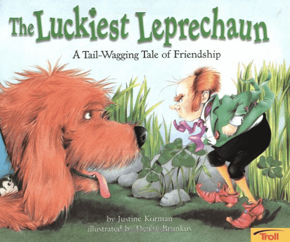 Book review of The Luckiest Leprechaun plus activities for first grade. #luckiestleprechaun #stpatricksday #stpatricksdaybook #gradeonederful