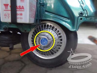 pasang kembali cover roda