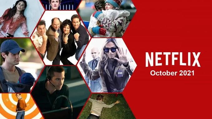 Lançamentos na Netflix em Outubro de 2021