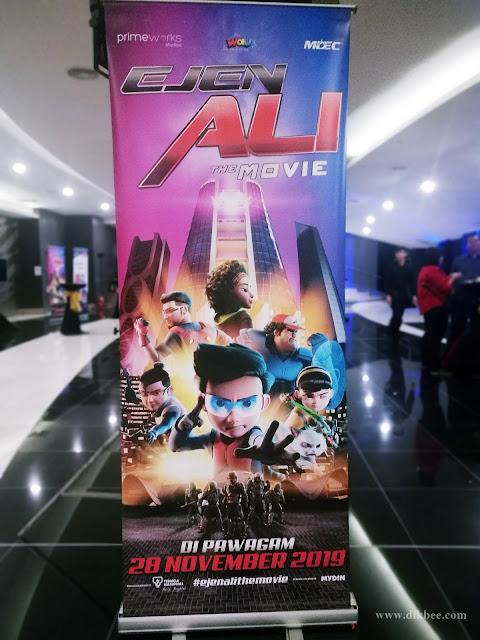 Jom Tonton Ejen Ali The Movie Sempena Cuti Sekolah
