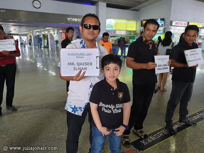 KRABI Part 3 | Tempah online pengangkutan pergi balik airport guna Krabi Shuttle