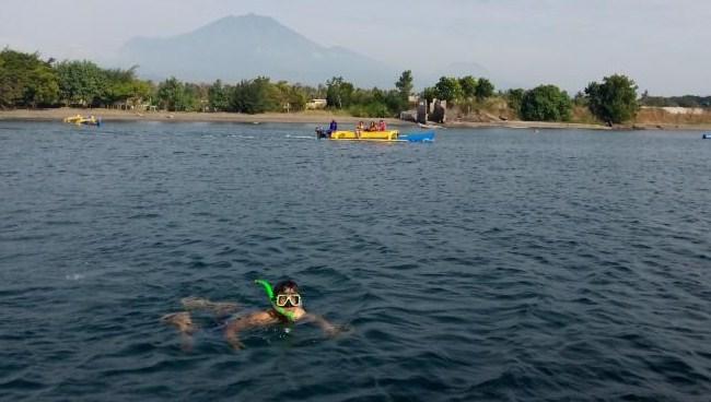Snorkeling rumah apung banyuwangi