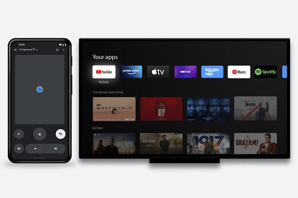 Aplicação Google TV expande-se para 14 países e controlo remoto android TV é lançado oficialmente na aplicação