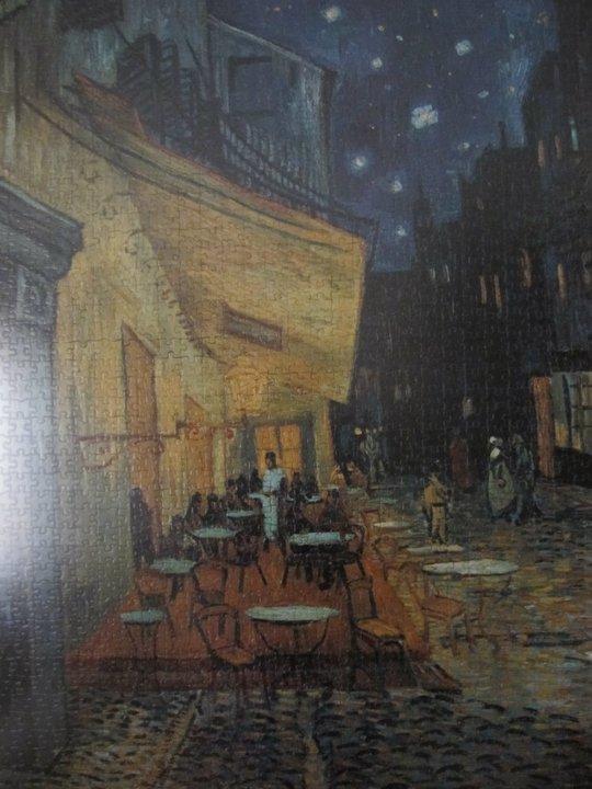 El Tiempo De Los Puzzles Terraza Del Café De La Place Du
