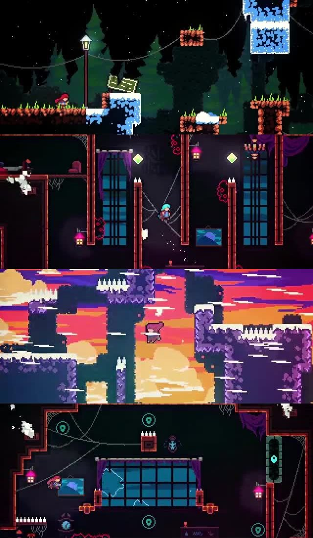 50 UPCOMING NINTENDO SWITCH GAMES OF 2018 14. CELESTE