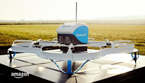 Amazon is close to launching a drone delivery service