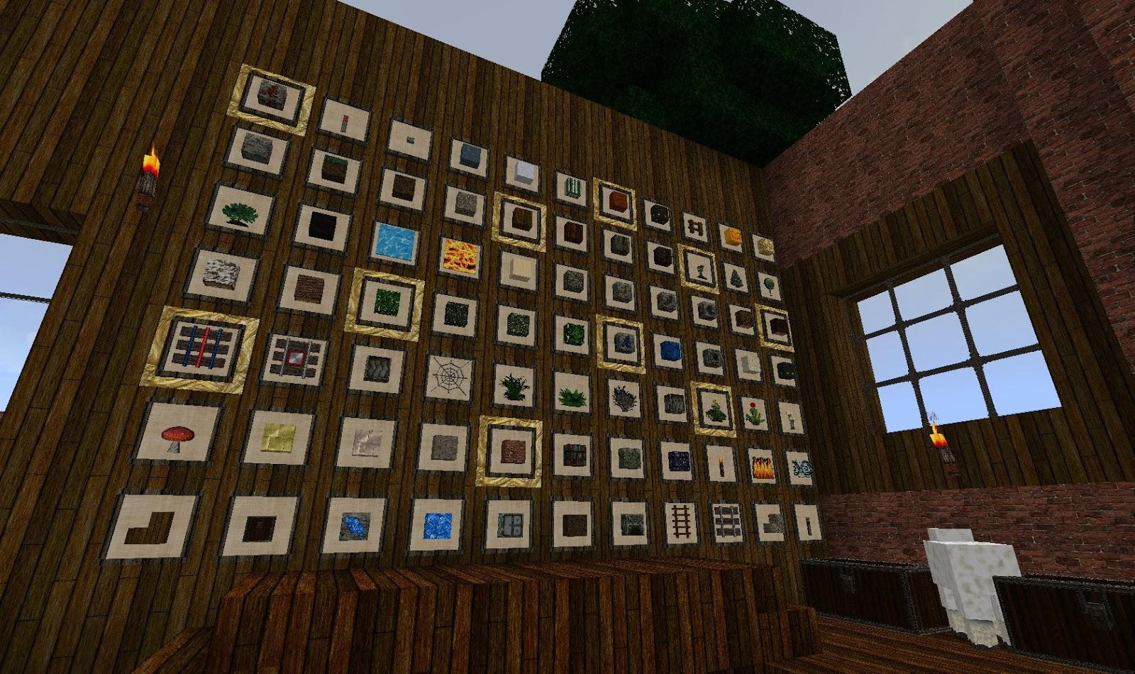 How Do You Make A Item Frame In Minecraft - Page 7 - Frame Design ...