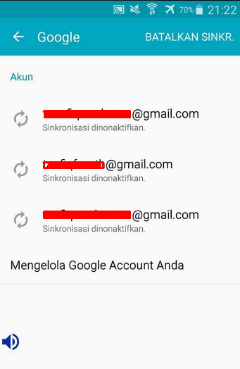 Tutorial Logout Gmail di HP Android Semua Merek (Samsung, Xiaomi, Vivo, Oppo) 4