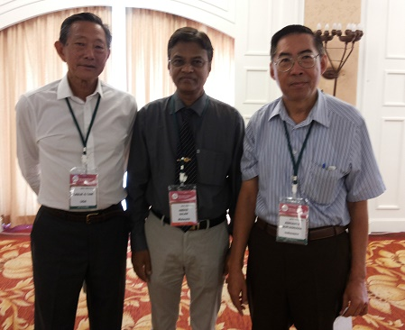 With Fellow Colleagues, 3rd APJC-PBL-2014, Thailand