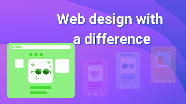 Web design with a difference
