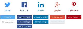 شرح كيفية ربط المواقع الاجتماعية بحسابك