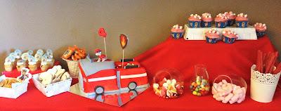 patrulla canina; mesa dulce; tarta patrulla canina; galletas patrulla; cupcakes; fiesta; cumpleaños;