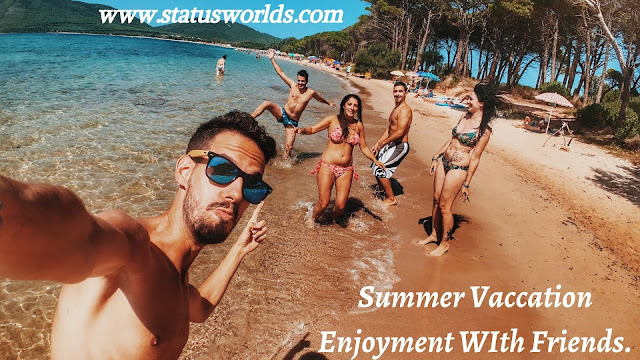 Summer Status, Caption And Quotes