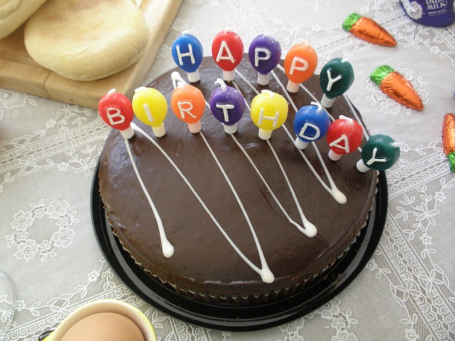 Beautiful Happy Birthday Image in hd with cake free download