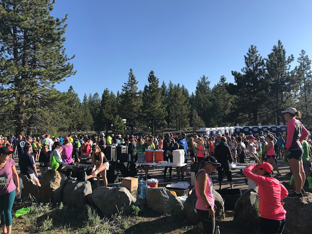 Rock Tahoe Half start area