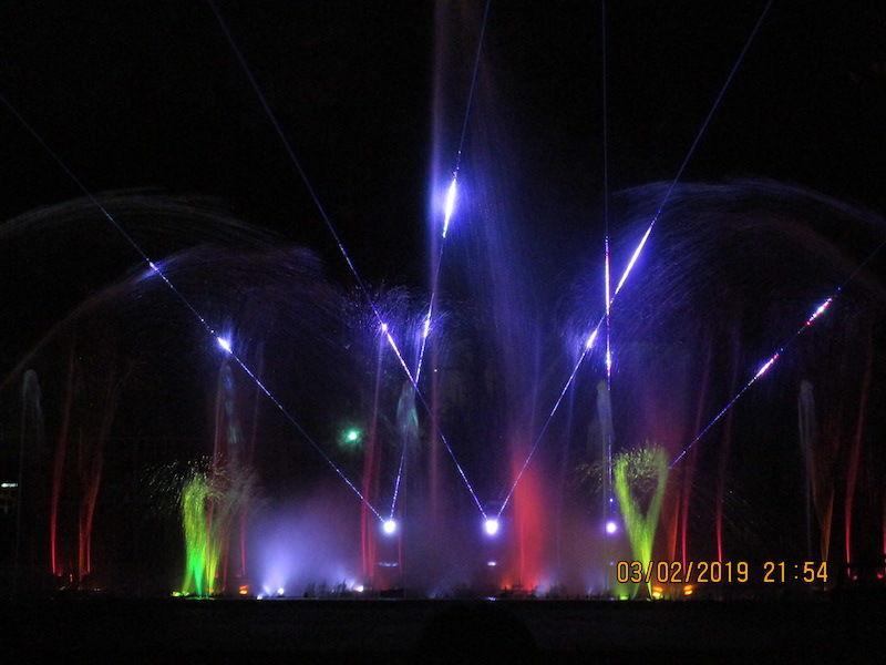 Laser Show in Cochin