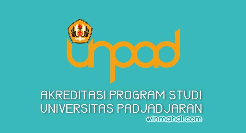 Akreditasi Jurusan UNPAD