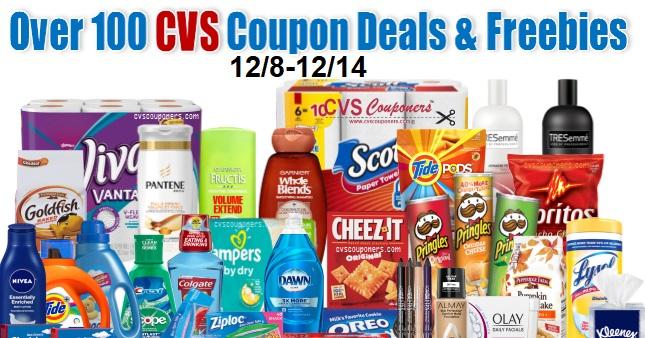 CVS Coupon Deals 12-8-12-14