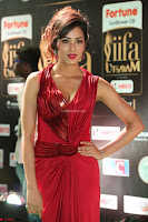 Videesha in Spicy Floor Length Red Sleeveless Gown at IIFA Utsavam Awards 2017  Day 2  Exclusive 43.JPG